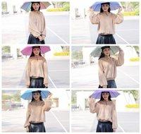 реклама стенда оптовых-НОВЫЙ головной убор зонтик 69см чай большой торговый зонт рекламный зонт стенд солнцезащитная шляпа зонтик-Z047
