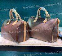 Wholesale ladies floral handbags for sale - Group buy Top Quality Classic Genuine Leather Handbag Women s Fashion Shoulder Bag cm Boston Bags with strap Lady Crossbody Bag