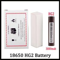 ячейка сотовой ячейки оптовых-100% Высокое Качество HG2 18650 Батарея С 3000 мАч 35А МАКС. Аккумуляторная Литиевая Батарея Для LG Cells Fit Vape Box Mod FEDEX UPS Доставка