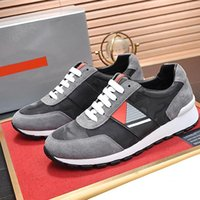 vintage stoffe für großhandel-Herren Schuhe Casual Luxus Designer Mode Schuhe für Männer Technical Fabric Sneaker Herren Schuhe Casual Scarpe da uomo Vintage A535 Rubber Sole