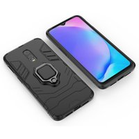 Wholesale oneplus 6t cases online – custom Luxury Magnetic Finger RingHard Armor Phone Case for OnePlus T Case Finger Ring Kickstand Bracket Cover Case
