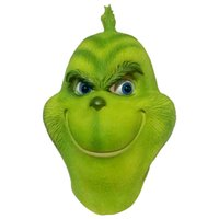 Wholesale The Grinch Latex Mask Movie Cosplay Prop Christmas Halloweenn Latex Party Masks