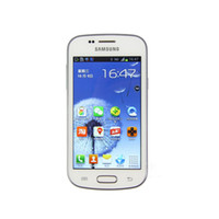 Wholesale android mp camera for sale - Group buy Original refurbished Samsung Galaxy Trend II Duos S7572 Android Dual core smartphone MB RAM G ROM MP Camera WIFI