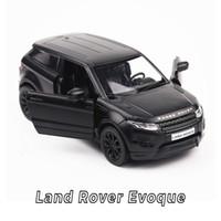 ingrosso modello di automobile di metallo della lega-Hot 1:36 ruote scala simulazione modellini auto Land Rover evoque modello in metallo tirare indietro lega giocattoli collezione per bambini regali
