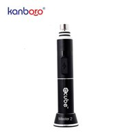 Wholesale master electronics resale online - Kanboro Ecube master dab rig henail with inbuilding battery wax vaporizer new electronic digital glass dab e rig products