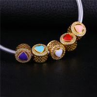 ювелирные изделия оптовых-Simple Style jewelry making supplies  Charms copper  Fit hand made Women Bracelets & Bangles DIY Jewelry Femme Gif