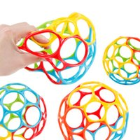 Wholesale kids safety games resale online - Baby Kids Educational Toys Rattles Ball For Newborn Children Cribs Stroller Soft Safety Bite Materials Grasping Holes Novelty Games