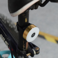 luces de seguridad al por mayor-Mini LED bicicleta luz de la cola de USB cargable Bicicleta luces traseras IPX5 impermeable de seguridad Advertencia Ciclismo Casco Mochila ligera de la lámpara