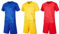kit crianças diy venda por atacado-camisas de futebol costume dos homens calções uniformes kit de futebol personalizada DIY Nome Número Logo de Adulto para equipe de futebol uniformes Crianças Conjuntos de futebol