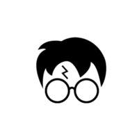 gelbe gläser karikatur großhandel-Aufkleber Vinyl Auto Fenster Brille Haar Symbol niedlich und interessante Mode Aufkleber Abziehbilder