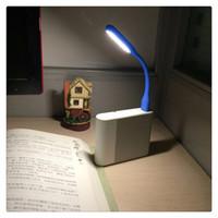 kitap ac toptan satış-Mini USB Led Masa Lambası Okuma Kitap Işık Alet Esnek Gece Işıkları USB Göz El Lambası Güç PC Laptop Notebook için Ev Sıcak