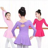 ingrosso lunga gonna arancione-Costume da ballo per bambina Vestito da ballo per ginnastica per bambini Body per bambini Costume da ballo per bambina