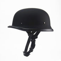 Wholesale chopper half helmets for sale - Group buy Cycling Protective Gear Helmets New Style German Motorcycle Half Helmet Vintage Chopper Cruiser Casco DOT Approved