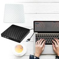 ingrosso unità ottiche portatili-Usb3.0 Bruciatore Dvd-Rom Modello 3D diamante in rilievo Bruciatore Dvd esterno Scatola unità ottica Computer desktop Laptop Universale