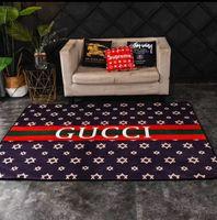 alfombra de bandera americana al por mayor-Alfombras de alfombra de diseño de lujo impresas, material de felpa corto, textil para el hogar, sala de estar y dormitorio, alfombra 2020 nuevo