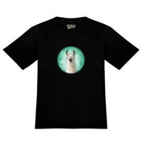 hosengläser großhandel-Hip Llama mit Brille Herren-Neuheit T-Shirt metallica Fan-Hosen fürchten Cosplay Liverpoott-T-Shirt