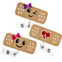 nurse id holder оптовых-Держатель для бейджа медсестры RN Badge - Идентификационная табличка с бинтом для бинта - Прекрасные подарки медсестры для женщин