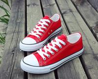 yeni moda ayakkabı fiyat toptan satış-Kanvas Ayakkabılar sneakers Kadın Erkek Düşük Stil moda lüks Klasik tasarımcı Ayakkabı Rahat Tuval Ayakkabı Yepyeni Fabrika Promosyon Fiyat