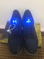 zapatos de baloncesto luminosos al por mayor-19AW Nueva Paul George PG II 2 zapatos de baloncesto de los hombres PG2 PlayStation All-Star luminoso de la lengüeta calzado deportivo zapatillas de deporte al aire libre