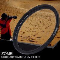 ingrosso filtri 62mm-Freeshipping Ultra Sottile 40.5 / 49/52/55/58/62/67/72/77 / 82mm Fotocamera Ultra-Violet Uv Filtro Lente Filtro Protezione Per Canon Per Nikon