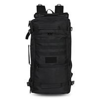 wasserdichte campingtaschen großhandel-Gameit 60L Outdoor Tactical Rucksack wasserdicht Umhängetasche für Camping Wandern
