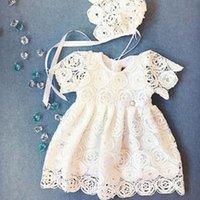 ingrosso vestiti da corto breve delle neonate-Le neonate di Emmababy vestono il vestito floreale dal pizzo della principessa scavano fuori i vestiti dal tutu del concorso di spettacolo di breve durata