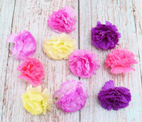 Wholesale handmade craft displays resale online - Artificial Carnations Mini Fake Handmade Artificial Flower Head For Wedding Decoration DIY Wreath Gift Scrapbooking Craft Fake Flower