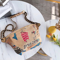 ingrosso casi di cuoio marrone-borse vita progettista marsupi marsupio sacchetto di alta qualità borse di nylon di lusso borse borsa da viaggio sportiva petto