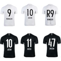 camisetas de fútbol de descuento nuevas al por mayor-2019 corinthians niños kits Camisas de futebol JADSON RONALDO SOMOZA CLAYSON JANDERSON camisetas de casa jerseys ausentes del fútbol