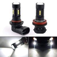 Wholesale h9 lamp resale online - H8 H9 H11 W LED Fog Light Bulbs Driving Lights Running Lamp High Power White Lighting LED Bulb Car Vehicle Auto Accessories
