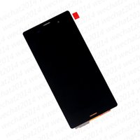Wholesale 100PCS LCD Display Touch Screen Digitizer Assembly Replacement Parts for Sony Z3 D6603 D6633 D6653 L55T Z3 Compact Z3 mini D5803 D5833