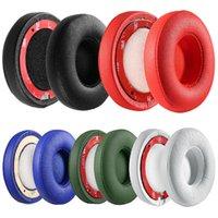 couvre coussinets de mousse achat en gros de-Coussin d'oreille de rechange pour casque Bluetooth pour oreillette Slo2 / Slo3 Bluetooth éponge coussinets en mousse souple Accessoires de couverture