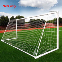 3X2M Soccer Goal Net Football Nets Mesh Football Accessories For Team Sports Outdoor Football Training Practice Match Fitness (Nets Only)