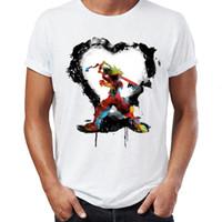 ilustraciones en tinta al por mayor-Camiseta para hombre Kingdom Hearts Keyblade Ink Art Artsy Impresionante obra de arte impresa camiseta