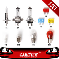 Wholesale spare lights for sale - Group buy 1set Halogen Spare Light Bulb Car Headlight Kit H1 H4 H7 Emergency Lamp T10 Turn Signal Lamp V Auto Accessories