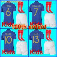 Wholesale shirts good resale online - 2018 soccer jersey football shirt kids kit boys uniforms Good quality with socks