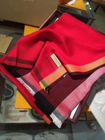 роскошный бренд пашмины оптовых-Роскошный зимний кашемировый шарф пашмины для женщин бренд дизайнер мужской теплый плед шарф мода женщины имитируют кашемировые шерстяные шарфы k0210
