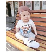 ingrosso vestiti da bambino ape-Negozio Linda produts GGUUCCII Nero Bianco Blu Navy Bee Ace perfetto vezzo Bambino Abbigliamento per bambini non reale Set di abbigliamento
