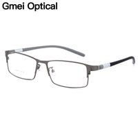 Men's Eyewear Frames Apparel Accessories Rimless 100% Titanium Eyeglasses Frame Super Lightweighted Flexible Titanium Alloy Temple Legs Optical Glasses Spectacles