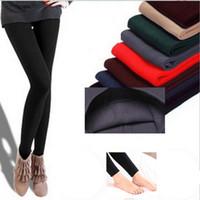 Wholesale nylon pants for women for sale - Group buy Autumn Plus And Winter Spring Velvet Warm Fashion Slim Women Leggings Women s Pants Fitness Pants For Girls Leggings