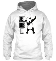 ingrosso panda felpa-Dab Panda JuUnisex unisex Hoodie