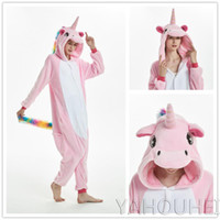 Onesie Halloween Wholesale Animal Stitch Star Unicorn onesie Adult Unisex Cosplay  Costume Women Pajamas Sleepwear Adult Winter ef4e70f5b