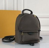 orta deri çanta tozu toptan satış-L lady gerçek deri moda klasik Orta veya Mini Omuz Çantası 41562 omuz kılıf moda okul sırt çantası açık seyahat çantaları
