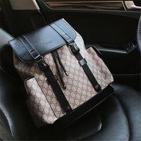 mochilas de couro para homens venda por atacado-Mochila Designer para Homens e Mulheres de Couro Genuíno Mochila De Luxo Nova Moda Sacos De Escola