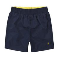 pantalones de baño de playa al por mayor-Nuevas marcas Pantalones cortos de polo de verano Pequeño caballo bordado Pantalones cortos de surf de playa para hombre de Ralph Pantalones de baño Hombres bañadores s01