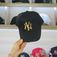 çocuklar çifte beyzbol şapkaları toptan satış-Yeni Marka Çocuk Beyzbol Şapkası Moda Çocuklar Kemik Snapback Şapka Beyzbol Şapka Golf Kap Şapka Spor Kap Çocuklar Için LS
