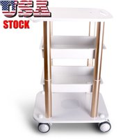 Wholesale shelving supplies for sale - Group buy 15kg Load Shelves Rolling Cart Salon Trolley Stand For Cavitation RF Beauty Slim Machine cm L x cm W Standing Trolley