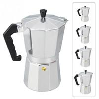 ingrosso stufa a pentola-Stove-top Moka Pot alluminio italiano macchine per la preparazione del caffè Expresso Mocaccino Maker 1-12cup drinkware facile da pulire per l'home office caffè
