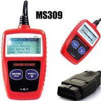 lecteur de code de véhicule achat en gros de-Outils de véhicule Outil de diagnostic de lecteur de code de scanner de diagnostics de voiture Autel Maxiscan MS309 OBDII OBDI2 OBD2