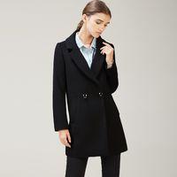 корейский зимний плащ пальто женщин оптовых-Korean Winter Female Coats for Women Cashmere Plus Size Cape Wool Coat Coat Female Long Section One Button Was Thin Jacket